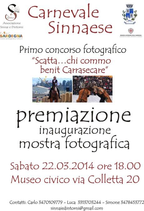 locandina concorso fotografico premiazione